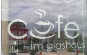 Cafe im Glashaus